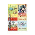 OFERTA DE 4 CARTI de COLORAT: IN EXCURSIE, IN PARC, OLIMPIADA ZOO, LAE CATELUS BUCLAT