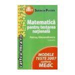 Matematica-testare nationala 2007