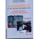 Matematica metoda grafica in rezolvarea problemelor clasele III-IV