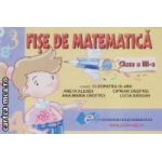 Fise de matematica pentru clasa a III-a