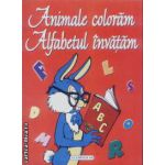Animale coloram Alfabetul invatam