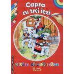 Citim si coloram Capra cu trei iezi