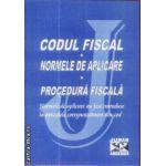 Codul Fiscal Normele de aplicare Procedura fiscala 2009