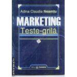 Marketing Teste grila