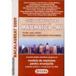 Ghid de pregatire Matematica M1 Bac 2009