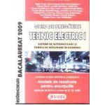 Ghid de pregatire Tehnic Electric I pentru Bacalaureat