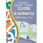 Culegere de Matematica pentru clasa 8 a