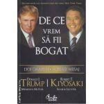 De ce vrem sa fii bogat: doi oameni, acelasi mesaj ( Editura Curtea Veche, autori: Donald J. Trump, Robert T. Kiyosaki ISBN: 978-973-669-505-6)