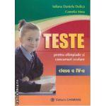 Teste pentru olimpiade si concursuri scolare clasa 4 a