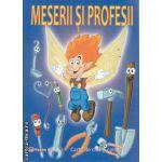 Meserii si Profesii carte de citit si colorat