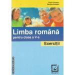 Limba romana pentru clasa a V-a Exercitii