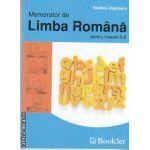 Memorator de Limba Romana pentru clasele 5-8