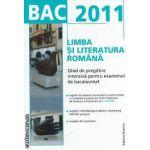 Limba si literatura romana Ghid de pregatire intensiva pentru examenul de bacalaureat 2011(culoare albastra)