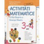 Activitati matematice cu Rita-Gargarita si Greierasul albastru caiet pentru grupa mica 3-4 ani(editura Aramis, autori: Stefania Antonovici, Mihaela Mitroi isbn: 978-973-679-856-6)
