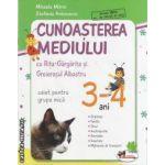 Cunoasterea mediului caiet pentru grupa mica 3-4 ani(editura Aramis, autor: Mihaela Mitroi, Stefania Antonovici isbn: 978-973-679-858-0)
