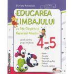 Educarea limbajului cu Rita-Gargarita si Greierasul albastru caiet pentru grupa mijlocie 4-5 ani(editura Aramis, autor: Stefania Antonovici isbn: 978-973-679-855-9)