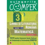 Teste pentru Concursul Scolar National de Competenta si Performanta COMPER clasa a III-a (editura Paralela 45, autori: Elena Apastinii, Camelia Burlan, Sanda  Cioroianu isbn: 978-973-47-1305-9)