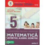 Matematica aritmetica, algebra, geometrie partea II clasa a V-a (editura Paralela 45, autori: Sorin Peligrad, Dan Zaharia, Maria Zaharia isbn: 978-973-47-1127-7)