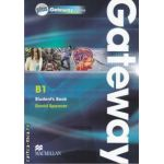 Gateway B1 Student's Book plus Gateway online ( editura: Macmillan, autor: David Spencer ISBN 978-0-230-41760-1 )