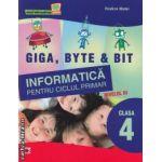 Informatica pentru ciclul primar nivelul 3 clasa a 4-a ( editura: Paralela 45 , autor: Rodica Matei ISBN 9789734712502 )