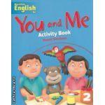 You and Me Activity Book 2 ( editura: Macmilan, autor: Naomi Simmons ISBN 978-1-4050-7952-5 )