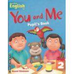 You and Me Pupil' s Book 2 ( editura: Macmillan, autor: Naomi Simmons ISBN 978-1-4050-7951-8 )