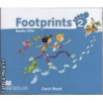 Footprints 2 Audio CDs ( editura: Macmillan, autor: Carol Read ISBN 9780230012035 )