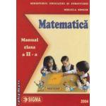 Matematica - manual pentru clasa a II - a , ( editura : Sigma , autor : Mihaela Singer ISBN 973-649-143-9 )