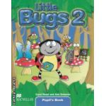 Little Bugs 2 Pupil's Book ( editura: Macmillan, autori: Carol Read, Ana Soberon ISBN 978-1-4050-6159-9 )