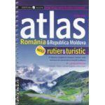 Atlas Romania si Republica Moldova rutier si turistic ( Editura: All, Autor: Constantin Furtuna, ISBN 978-973-724-613-4 )