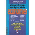 Metoda de invatare rapida si eficienta a economiei ( Editura: Universitara, Autor: Constantin Gogoneata, Basarab Gogoneata ISBN 9786065916845 )