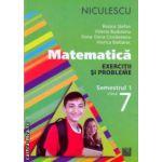 Matematica exercitii si probleme semestrul I clasa a VII a ( Editura: Niculescu, Autor: Rozica Stefan, Valeria Buduianu, Oana-Dana Cioraneanu, Viorica Baibarac ISBN 9789737487988 )
