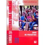 Limba romana literatura comunicare caiet de exercitii clasa a VIII a ( Editura: Niculescu, Autor: Mariana Cheroiu, Mihaela Musat, Florentina Nichitov ISBN 9789737488091 )