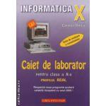 Informatica: clasa a X - a: caiet de laborator - profilul real neintensiv ( editura: L & S Info - mat, autor: Carmen Minca ISBN 9789737658067 )