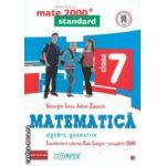 Matematica 2000 standard: Algebra, Geometrie: clasa a VII - a ( editura: Paralela 45, coord. Radu Gologan ISBN 978-973-47-1700-2 )