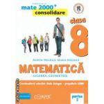Matematica 2000 consolidare : Algebra , Geometrie : clasa a VIII - a , Partea I ( editura : Paralela 45 , coord . Radu Gologan ISBN 9789734717170 )