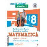 Matematica 2000 standard : Algebra , Geometrie : clasa a VIII - a ( editura : Paralela 45 , coord . Radu Gologan ISBN 978-973-47-1701-9 )