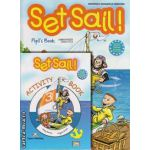 PROMOTIE : Set Sail 3 Pupil ' s Book + Activity  book ( editura : Express Publishing , autori : Jenny Dooley , Virginia Evans )