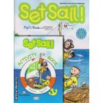 PROMOTIE : Set Sail 4 Pupil ' s Book + Activity book ( editura : Express Publishing , autori : Jenny Dooley , Virginia Evans )