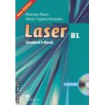 Laser B1 Student' s Book with CD-ROM ( editura: Macmillan, autori: Malcolm Mann, Steve Taylore-Knowles ISBN 9780230433526 )