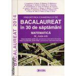 Bacalaureat 2014 in 30 de saptamani - Matematica M_mate-info (Editura : Sigma , autor : C. Angelescu , N. Baciu, O. Balanescu , ISBN 978-973-649-874-9