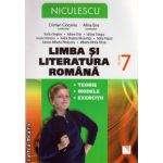 Limba si literatura romana: teorie, modele, exercitii clasa a VII - a ( editura: Niculescu, autor: Rodica Bogdan, Iuliana Cirje, ISBN 9789737487926 )