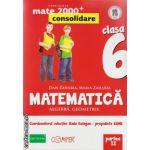 Matematica 2000 consolidare : Algebra , Geometrie : clasa a VI - a , Partea II ( editura : Paralela 45 , coord . Radu Gologan ISBN 978-973-47-1810-8 )