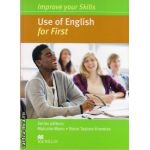 Improve Your Use of English Skills for First Student's Book without key ( editura: Macmillan, autor: Malcolm Mann, ISBN 9780230461925 )