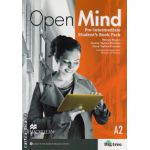 Open Mind Pre-Intermediate Student's Book Pack Standard with DVD ( editura: Macmillan, autor: Mickey Rogers, ISBN 9780230458291 )