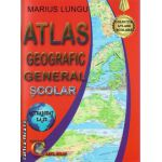 Atlas geografic general scolar ( editura: Carta Atlas, autor: Marius Lungu, ISBN 978-606-93661-0-3 )