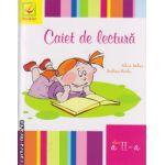 Caiet de lectura clasa a II - a ( editura : Booklet , autor : Silvia Mihai , ISBN 978-606-590-161-2 )