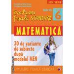 Teste de evaluare finala standard - matematica clasa a 6 -a ( editura : Paralela 45 , autor : Sorin Peligrad , ISBN 9789734718597 )