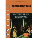 Istorie - bacalaureat 2014 : sinteze , teste , rezolvari ( editura : Meronia , autor : George Marcu , ISBN 978-973-7839-91-6 )