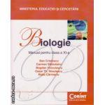 Manual de biologie clasa a XI - a ( editura: Corint Educational, autor: Dan Cristescu, ISBN 978-606-8609-08-9 )